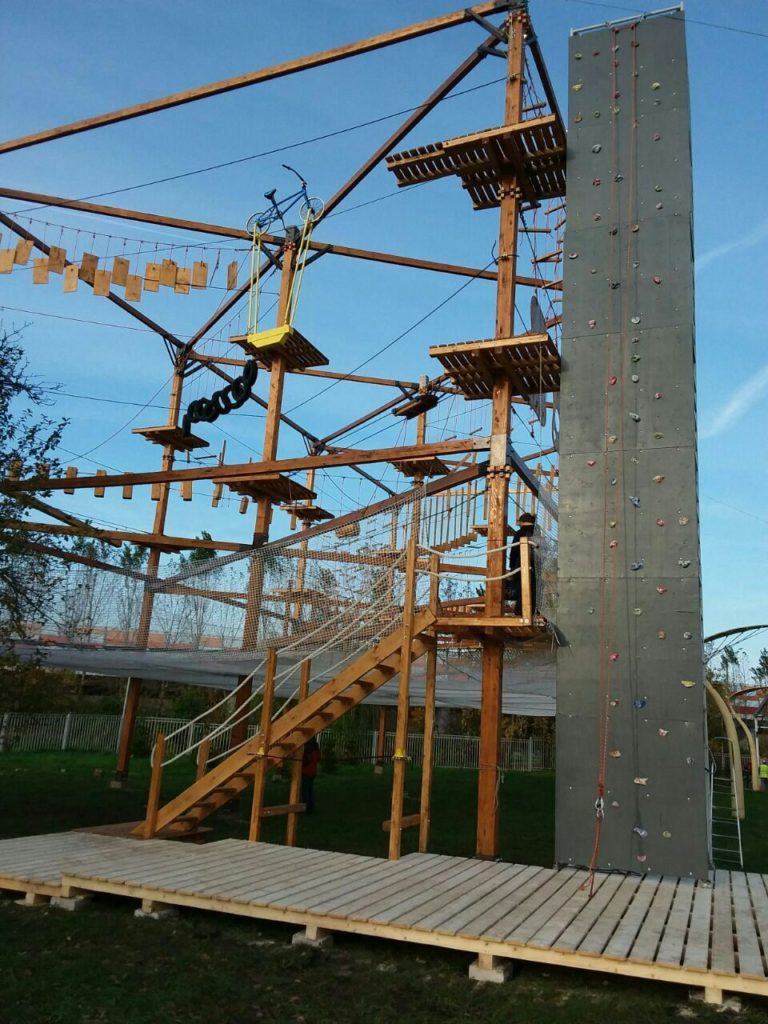 Ropes course in Moscow by Avirakids