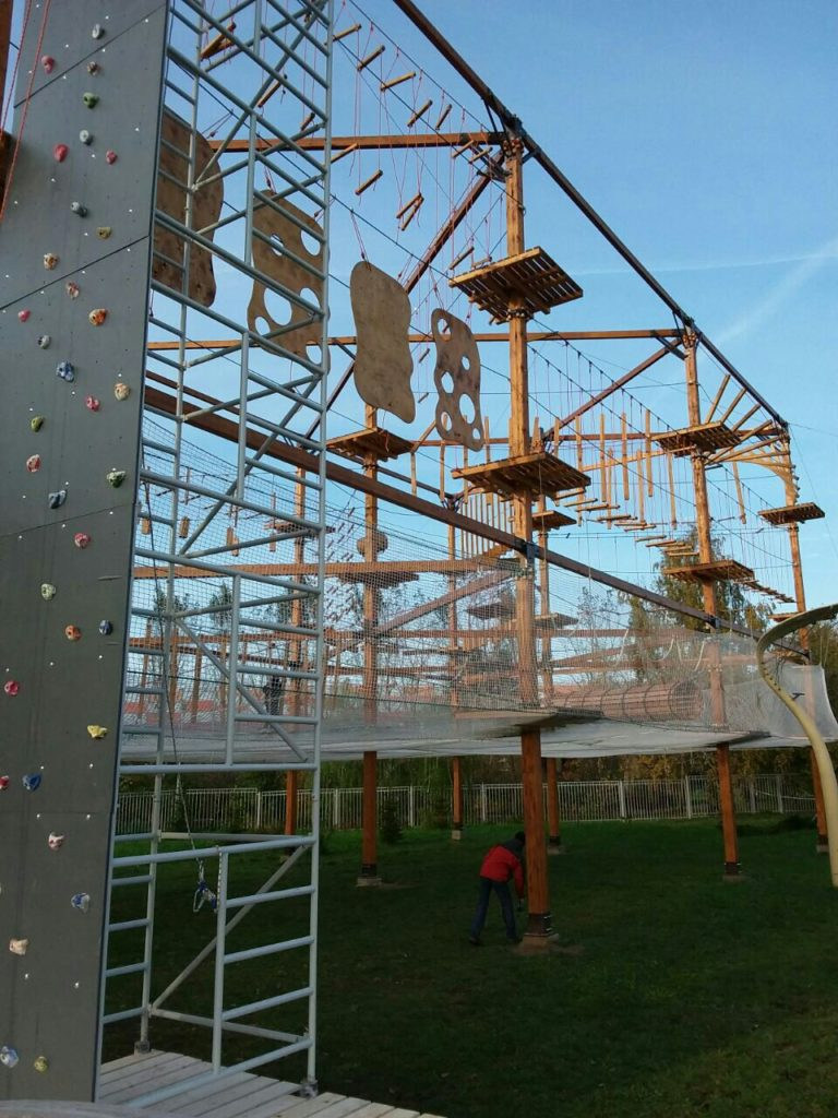 Ropes course in Moscow by Avirakids 2
