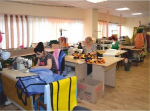 Sewing manufacture