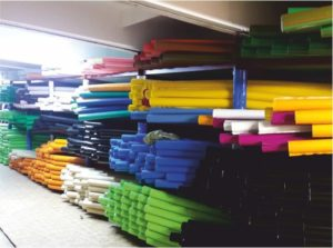 Protective sleeves production